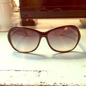 Dita two-tone Lotus sunglasses